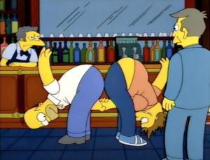 Homer handshake